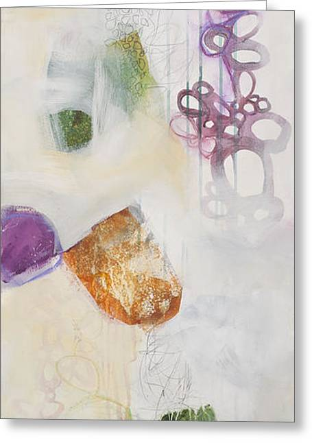 Acrylic Art Greeting Cards - Washed Up # 5 Greeting Card by Jane Davies