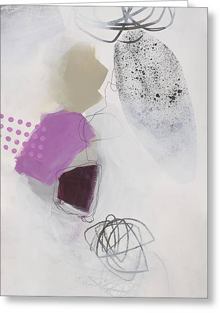Acrylic Art Greeting Cards - Washed Up #3 Greeting Card by Jane Davies