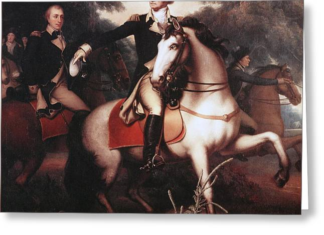 Washington Before Yorktown Greeting Card by Rembrandt Peale