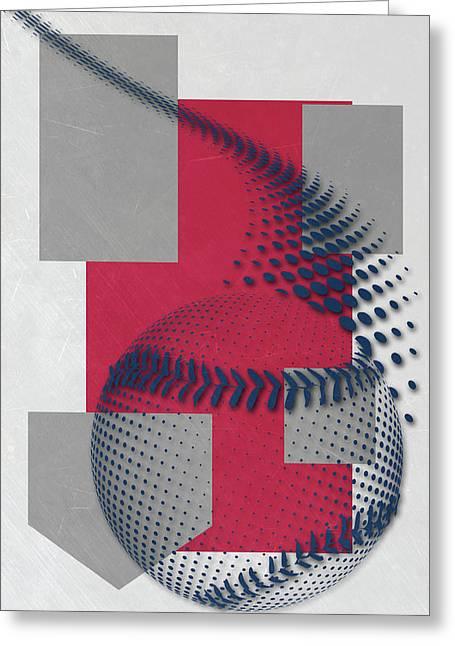 Washington Nationals Art Greeting Card by Joe Hamilton