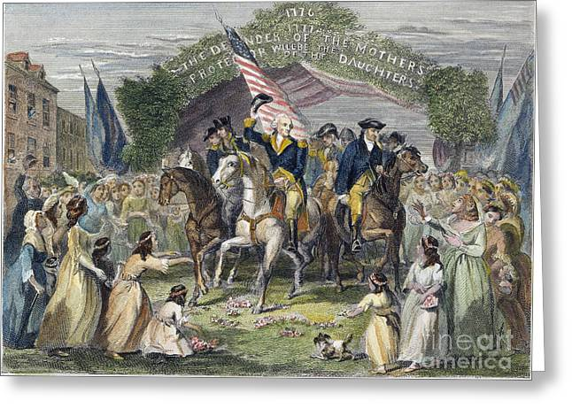 Inauguration Greeting Cards - Washington: Trenton, 1789 Greeting Card by Granger