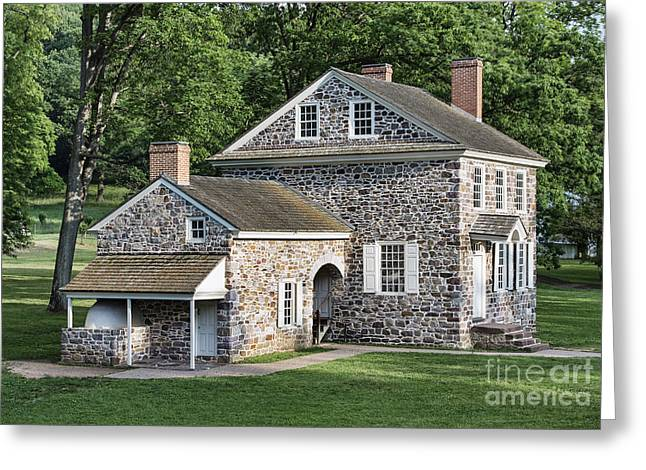 Washington's Headquarters At Valley Forge Greeting Card by John Greim