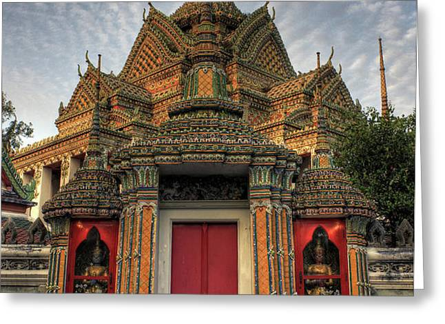 Wat pho Greeting Card by Buchachon Petthanya