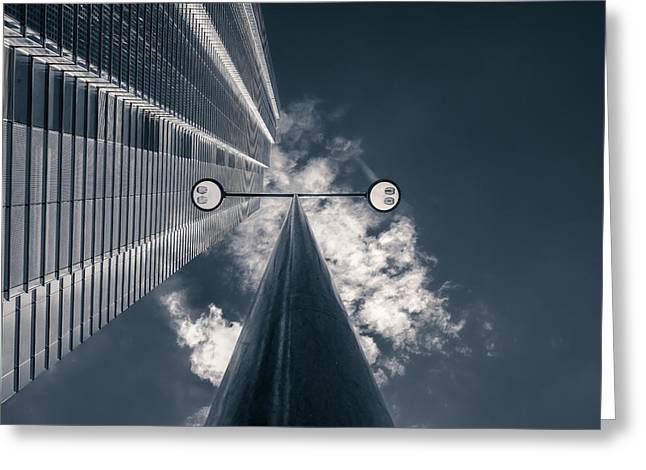 City Of London Greeting Cards - Watching You Greeting Card by Nico T