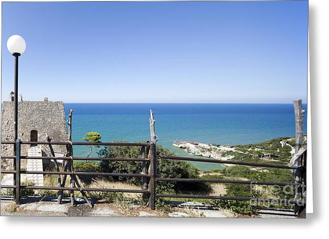 Italy Greeting Cards - Watchtower Greeting Card by Wolfgang Steiner