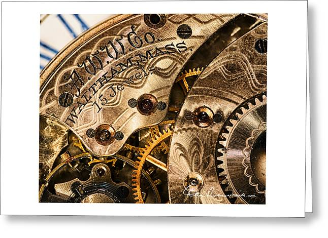 Mechanism Greeting Cards - Watchworks 4234 Greeting Card by Dan Beauvais