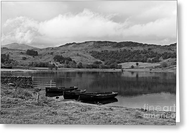 Watendlath Tarn In The Lake District Cumbria Greeting Card by Louise Heusinkveld