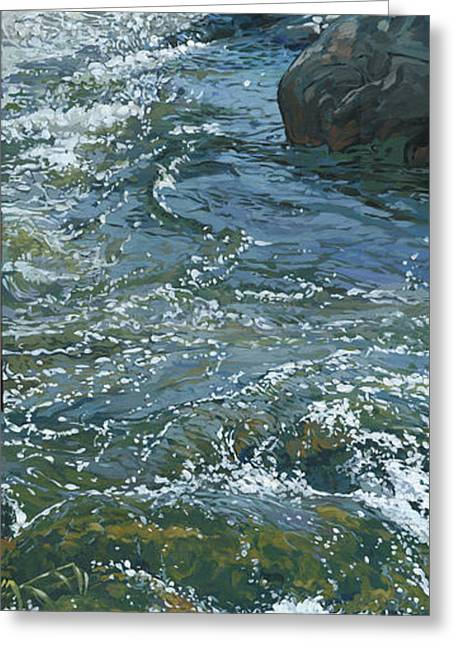 Best Sellers -  - Nadi Spencer Greeting Cards - Water 3 Greeting Card by Nadi Spencer