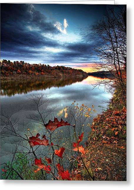 Upstate Ny Greeting Cards - Water Colors Greeting Card by Neil Shapiro