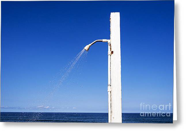 Clean Water Greeting Cards - Water Conservation Greeting Card by John Greim
