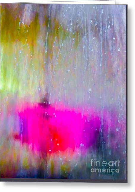 Energize Paintings Greeting Cards - Water Contemplations Greeting Card by Francine Collier