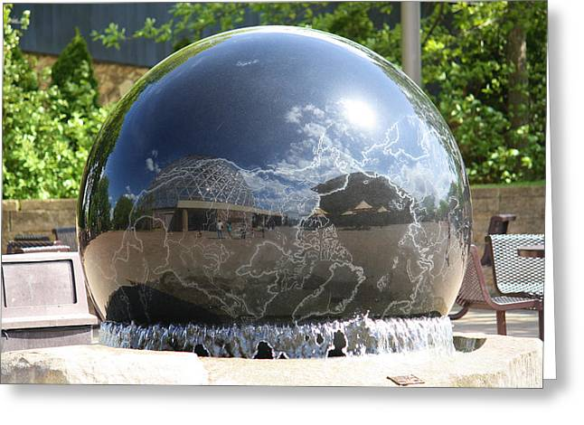 Sight See Greeting Cards - Water Globe Greeting Card by Karen M Scovill