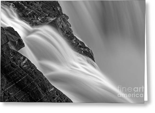 Water Flowing Greeting Cards - Water Movement Greeting Card by Colin Woods