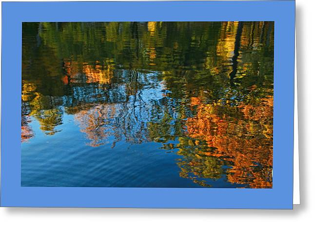 Water Reflections 12 Greeting Card by Allen Beatty