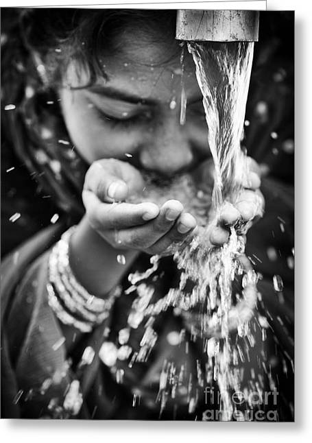 Clean Water Greeting Cards - Water  Greeting Card by Tim Gainey