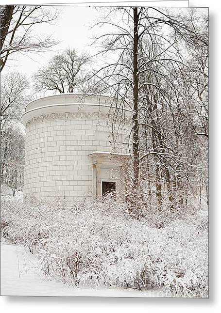Public Bath Greeting Cards - Water Tower tourist attraction Greeting Card by Arletta Cwalina