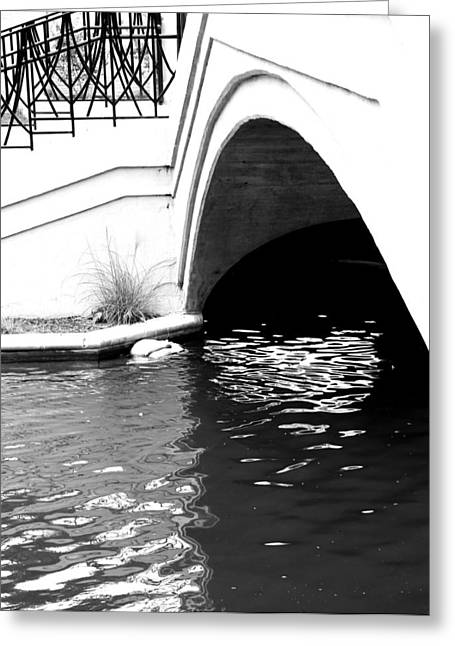 Water Under The Bridge Greeting Card by Dan Sproul