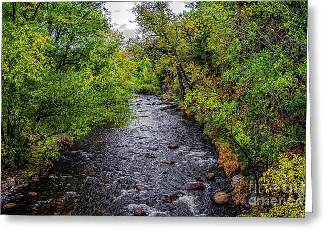 Mummy Range Greeting Cards - Water Under The Bridge Greeting Card by Jon Burch Photography