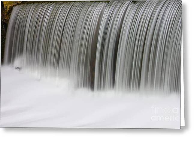 Exposure Greeting Cards - Waterfall Comb Greeting Card by Jennifer White