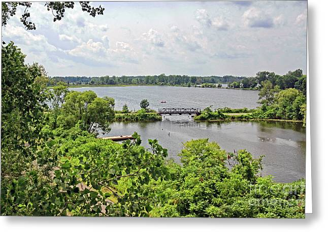 Riverwalk Greeting Cards - Waterford Heritage Trail Greeting Card by Charline Xia