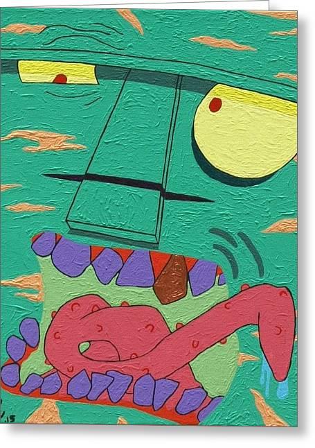 Watermelon Greeting Cards - Watermelon Greeting Card by Jeremy Roark