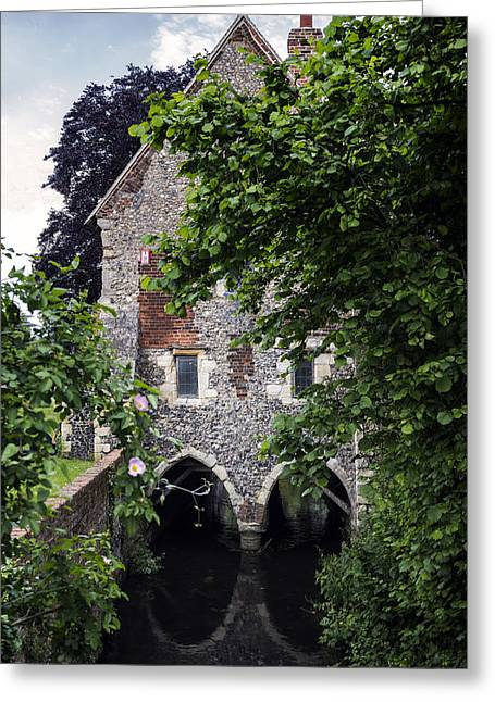 Historic England Greeting Cards - Watermill Greeting Card by Joana Kruse