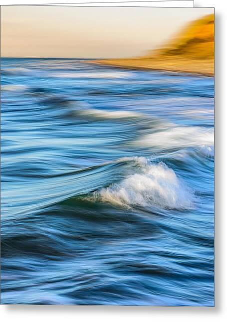 Watery Greeting Card by Catalin Tibuleac