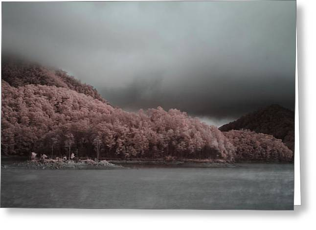 Wautagua Morning Greeting Card by Jim Cook