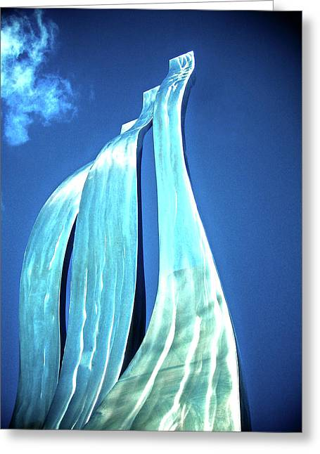 Master Piece Greeting Cards - Wave of Weiden Greeting Card by Juergen Weiss