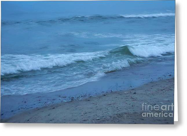 waves II Greeting Card by HD Connelly