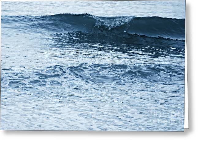 waves III Greeting Card by HD Connelly