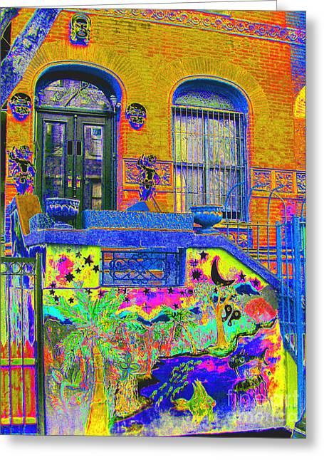 Steven Huszar Greeting Cards - Wax Museum Harlem NY Greeting Card by Steven Huszar