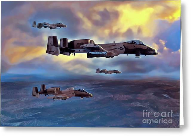 Air Sculptures Greeting Cards - Waypoint Bravo Greeting Card by Dave Luebbert