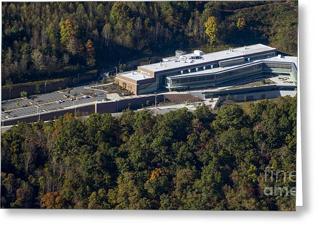 Wcu Health And Human Sciences Building Greeting Card by David Oppenheimer