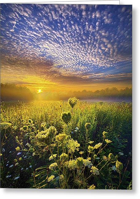 We Shall Be Free Greeting Card by Phil Koch
