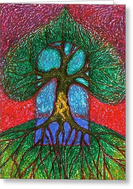 Vibrant Pastels Greeting Cards - We Will Be Together Always  Greeting Card by Wojtek Kowalski