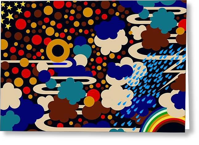 Weather Greeting Card by Sholto Drumlanrig