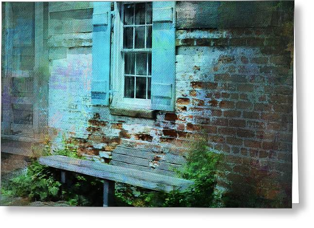 Pirates Greeting Cards - Weathered Beauty in Savannahs Historic District Greeting Card by Carla Parris