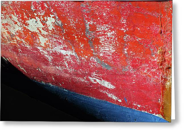 Weathered Bow Greeting Card by Juergen Roth