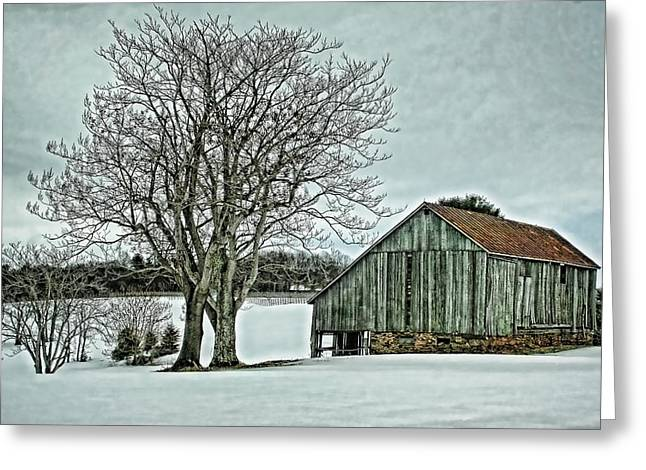 Apart Greeting Cards - Weathered Greeting Card by Heather Applegate