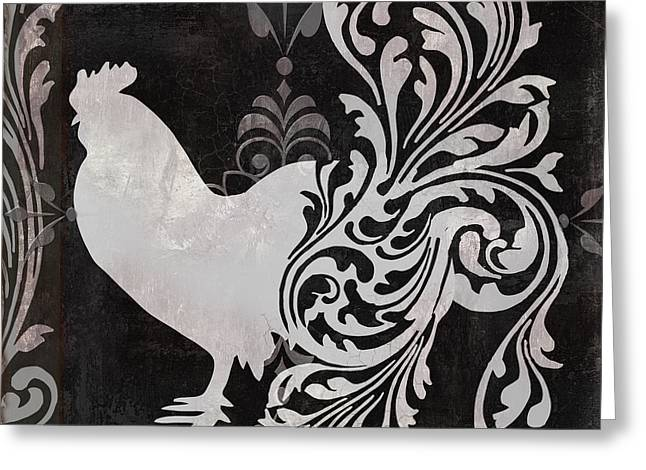 Rooster Greeting Cards - Weathervane I Greeting Card by Mindy Sommers