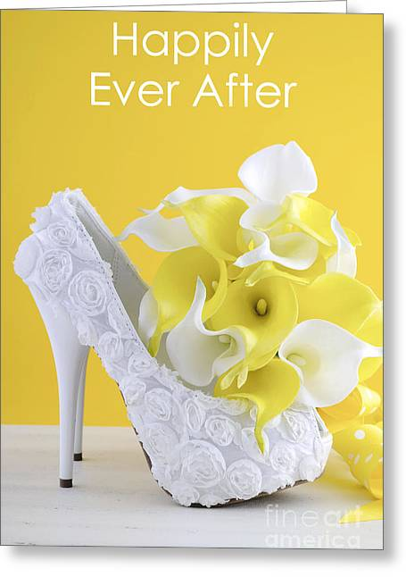 Tabletop Greeting Cards - Happily Ever After  Greeting Card by Milleflore Images