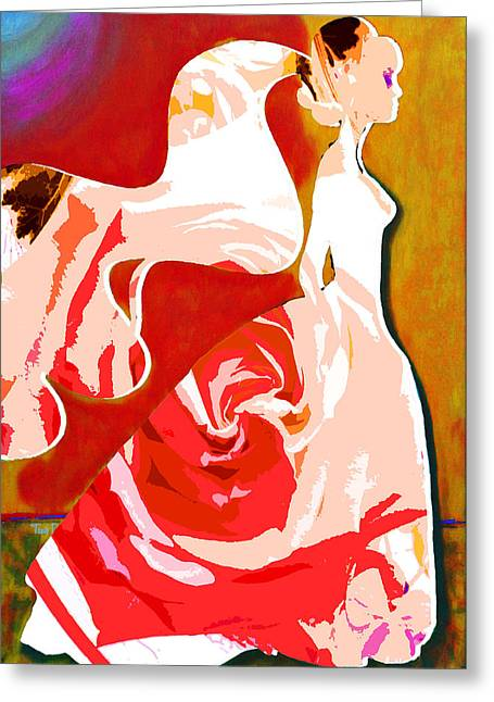 No Frame Needed Paintings Greeting Cards - Wedding Day Greeting Card by Tami Dalton