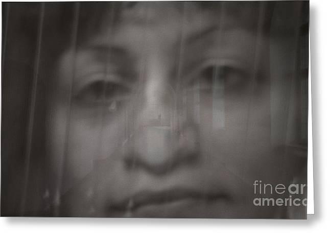 Weeping Greeting Card by Jeff Breiman