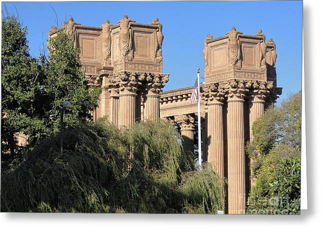 Weeping Greeting Cards - Weeping Women - Palace of Fine Arts San Francisco Greeting Card by TN Fairey