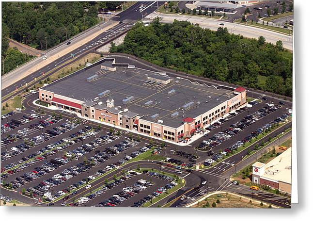 Foundry Greeting Cards - Wegmans Foundry Way and Wyeth Drive Malvern PA 19355 Greeting Card by Duncan Pearson