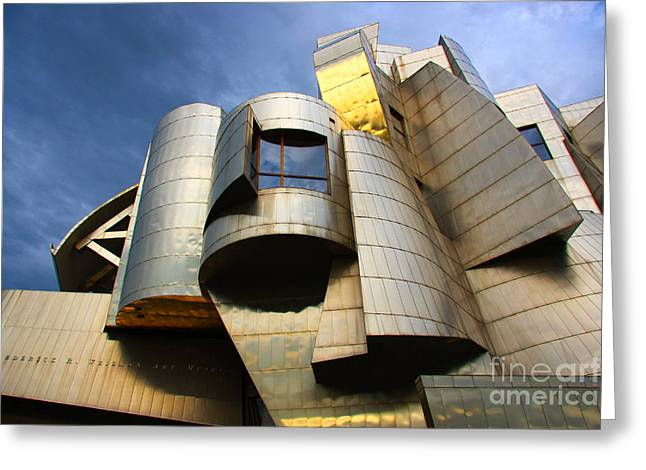 Weisman Art Museum University Of Minnesota Greeting Card by Wayne Moran