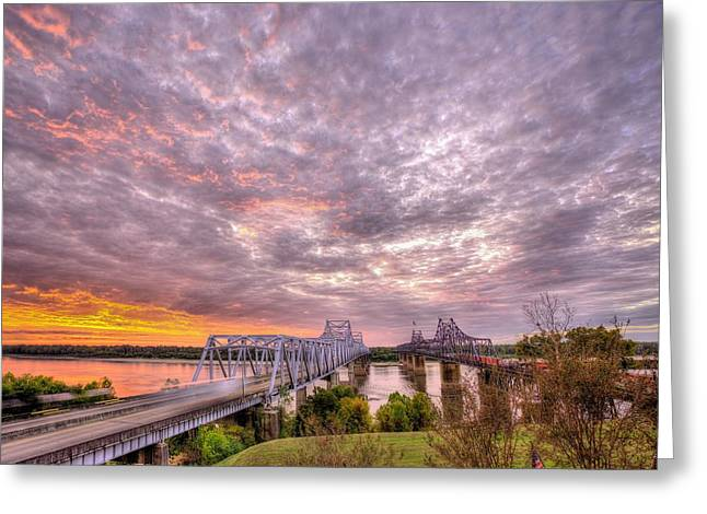 Welcome To Mississippi Greeting Card by JC Findley