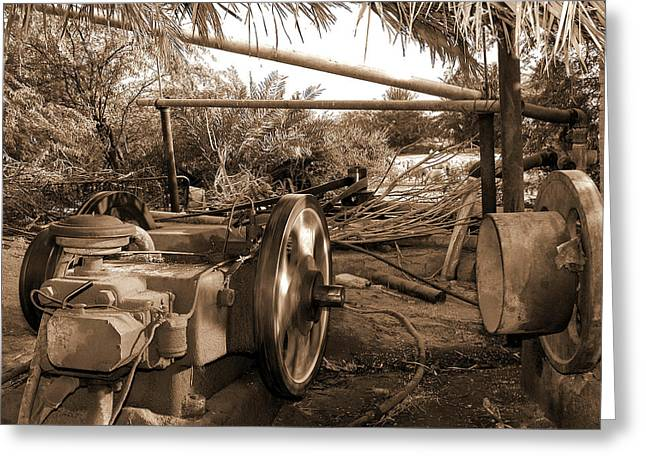 Well Pump Greeting Card by Graham Taylor