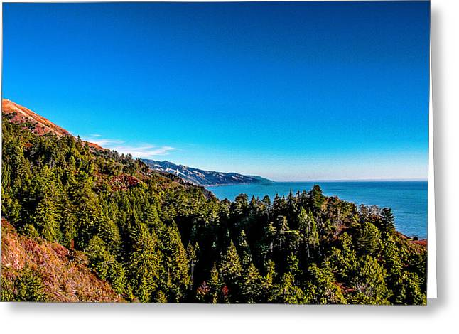 Big Sur Greeting Cards - West Coast  Greeting Card by Frank Molina